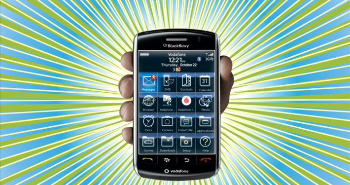 Blackberry Storm Phone